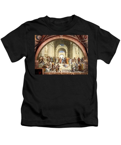 School Of Athens Kids T-Shirt
