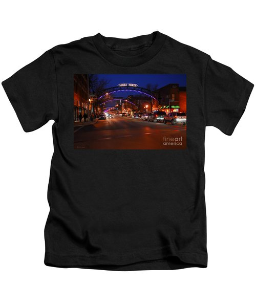 D8l-353 Short North Gallery Hop Photo Kids T-Shirt