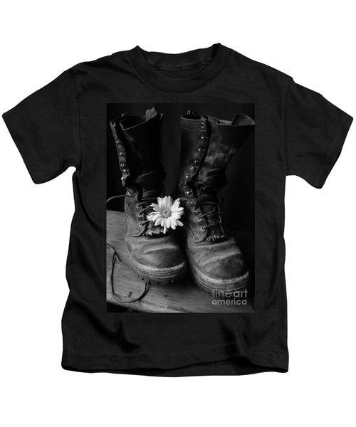Sweat And Fire Worn Kids T-Shirt