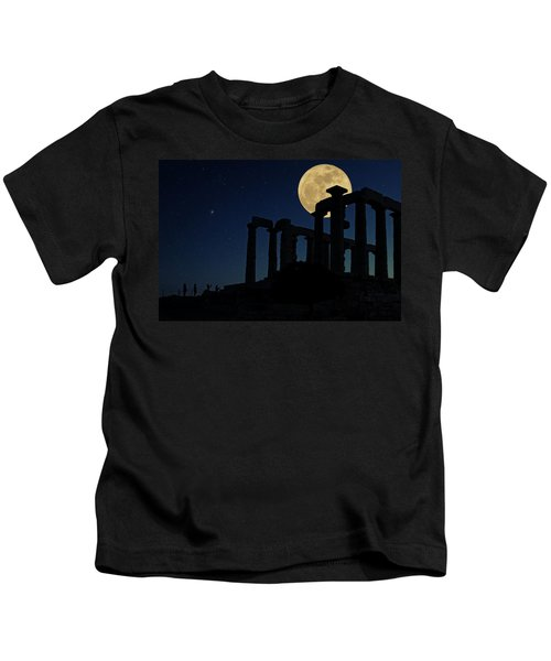 Temple Of Poseidon  Kids T-Shirt