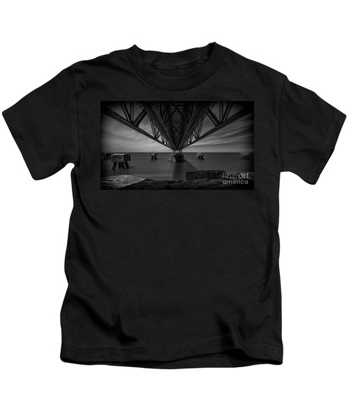 Under The Pier Kids T-Shirt by James Dean