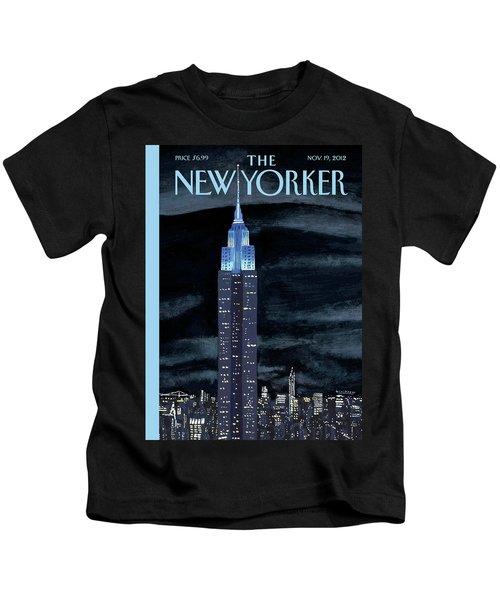 New Yorker November 19th, 2012 Kids T-Shirt