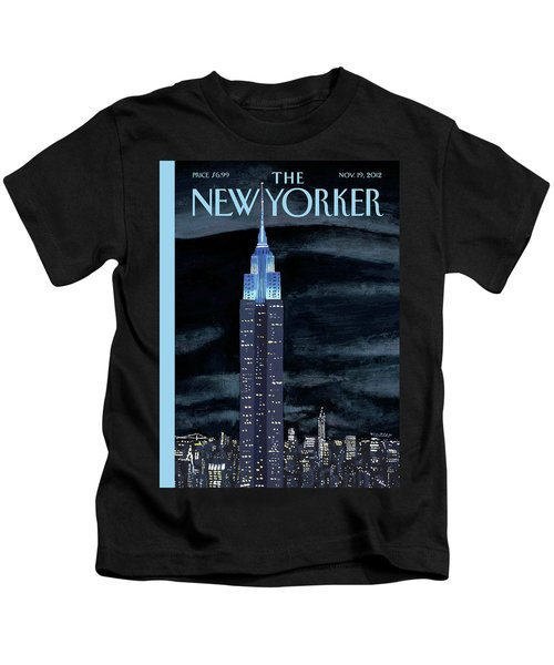 New Yorker November 19th, 2012 Kids T-Shirt