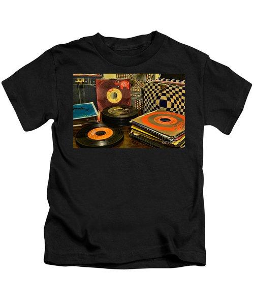 Vintage Vinyl Kids T-Shirt