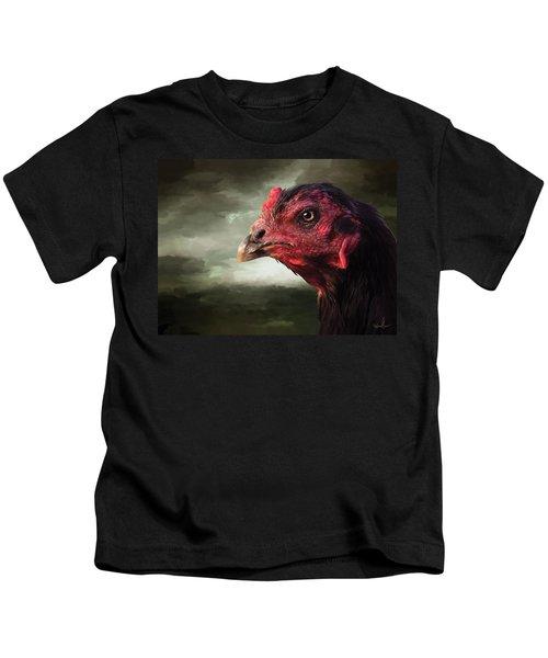 22. Game Hen Kids T-Shirt