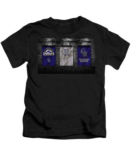 Colorado Rockies Kids T-Shirt