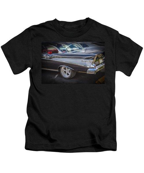 1957 Chevrolet Bel Air Kids T-Shirt