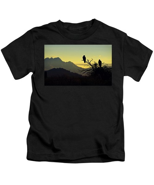 By Dawn's Early Light  Kids T-Shirt