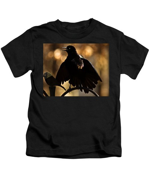 Common Grackle Kids T-Shirt