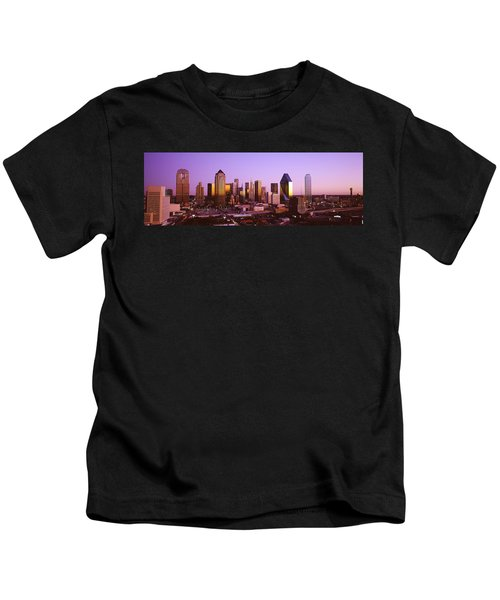 Dallas, Texas, Usa Kids T-Shirt by Panoramic Images