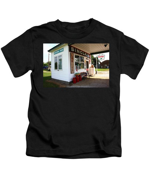 Route 66 Filling Station Kids T-Shirt