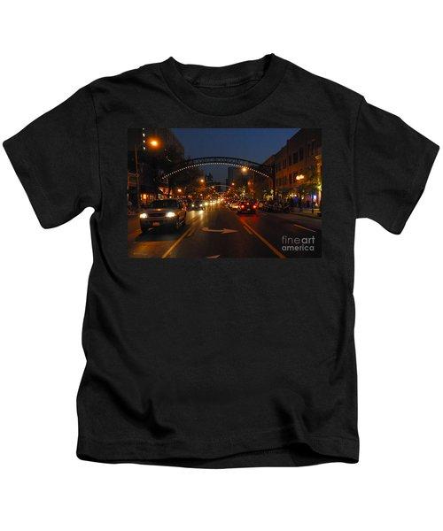 D8l-152 Short North Gallery Hop Photo Kids T-Shirt