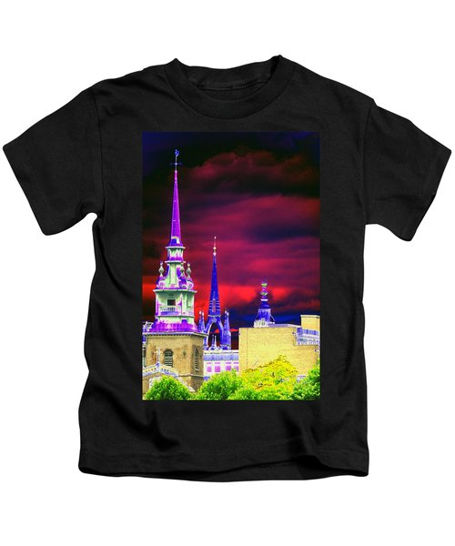 3 Spires  Kids T-Shirt