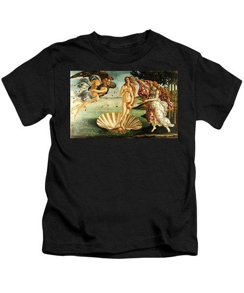 The Birth Of Venus Kids T-Shirt