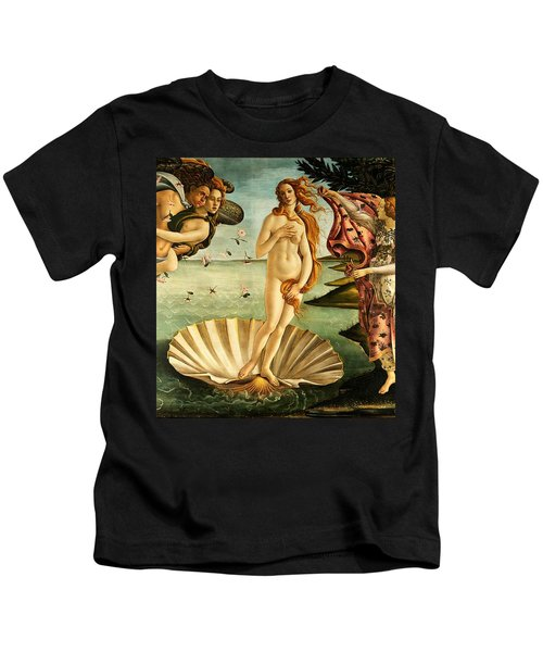 The Birth Of Venus Kids T-Shirt