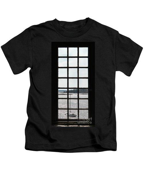 Through An Old Window Kids T-Shirt