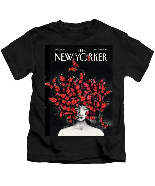 New Yorker March 29th, 2010 Kids T-Shirt