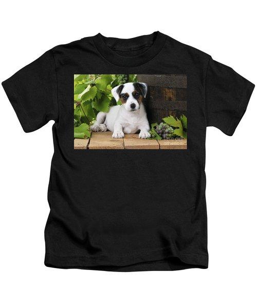Parson Russell Terrier Puppy Kids T-Shirt