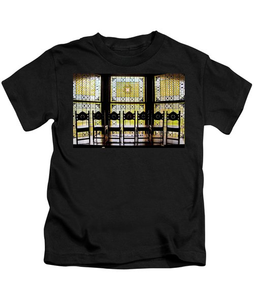 7 Hairs And Stained Glass Db Kids T-Shirt