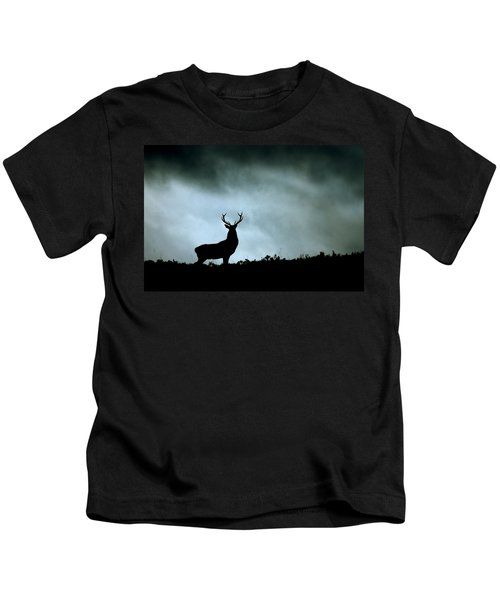 Stag Silhouette Kids T-Shirt