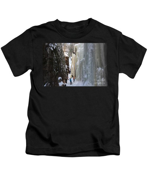 The Flume Gorge Nh Kids T-Shirt