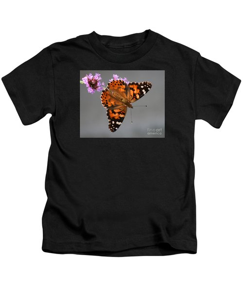 American Painted Lady Butterfly Kids T-Shirt