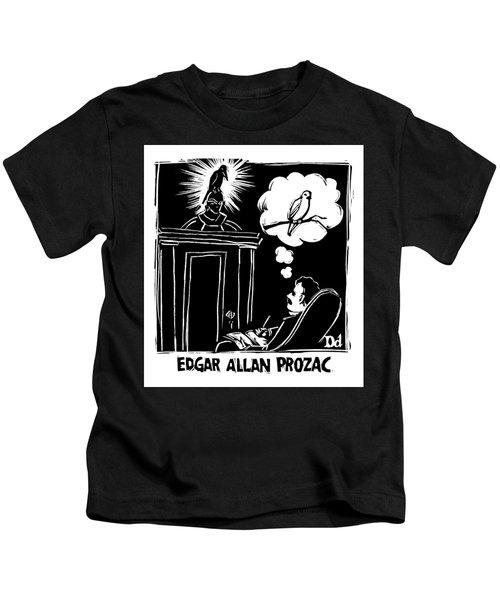Edgar Allen Prozac Kids T-Shirt