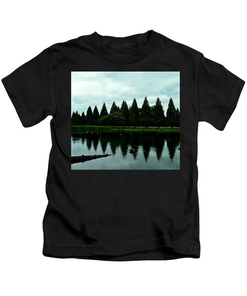 A Gaggle Of Pines Kids T-Shirt