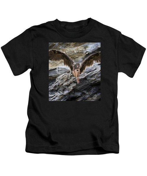 A Guardian Angel Kids T-Shirt