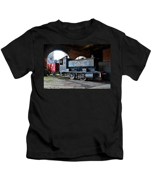 A Locomotive At The Colliery Kids T-Shirt