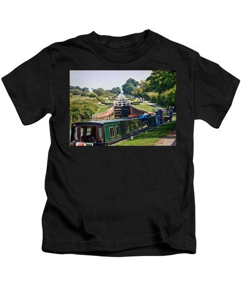 A Long Climb Kids T-Shirt