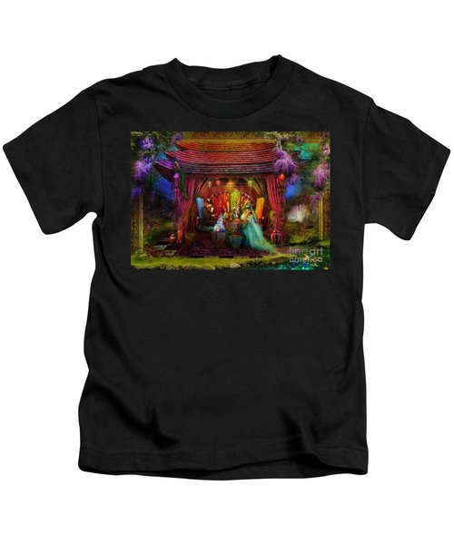 A Mad Tea Party Kids T-Shirt