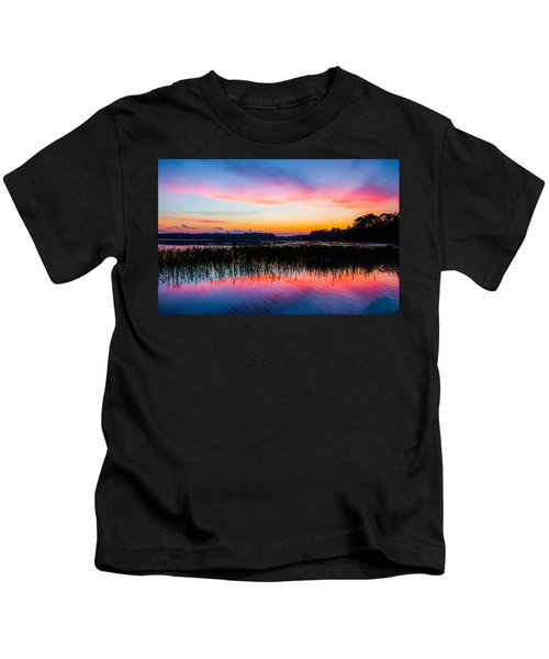 A Palette Of Colors Kids T-Shirt