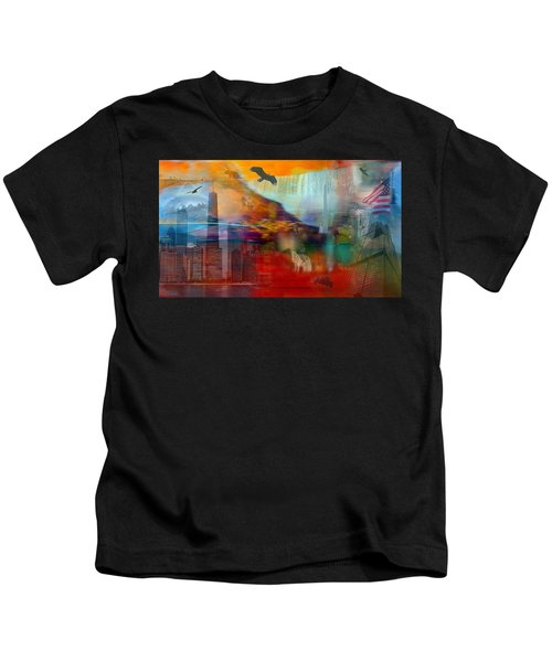 A Piece Of America Kids T-Shirt