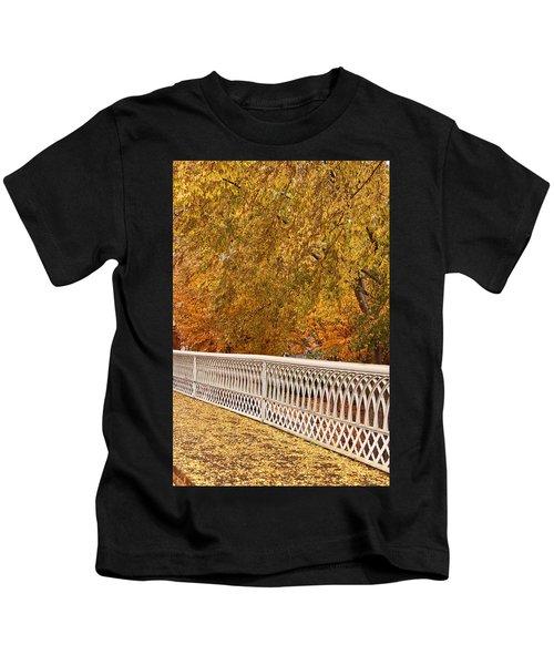A Quiet Day On The Riverwalk Kids T-Shirt