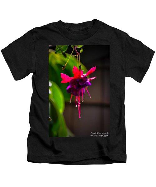 A Special Red Flower  Kids T-Shirt