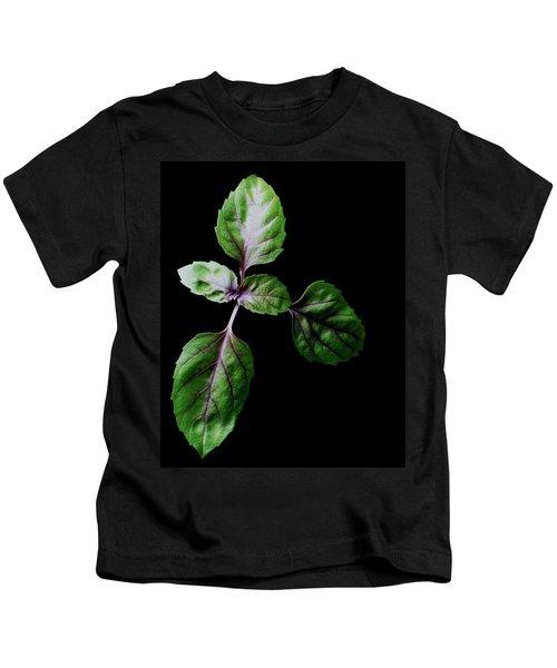A Sprig Of Basil Kids T-Shirt