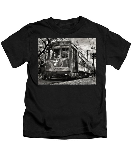 A Streetcar Named St Charles Kids T-Shirt