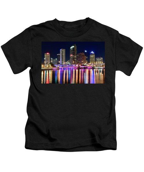 A Tampa Bay Night Kids T-Shirt