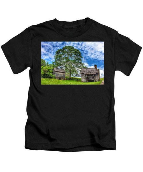A Trip Back In Time Kids T-Shirt