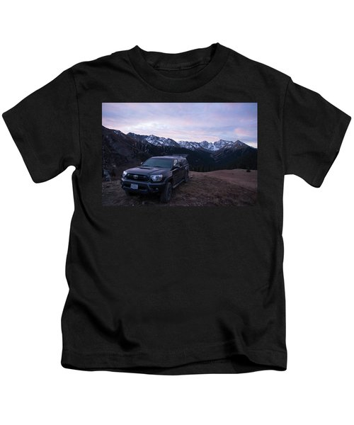 A Truck Parked In The Silverton Kids T-Shirt