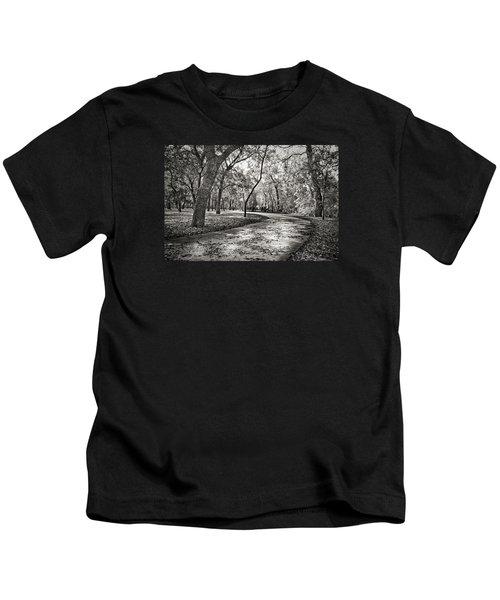 A Walk In The Park Kids T-Shirt