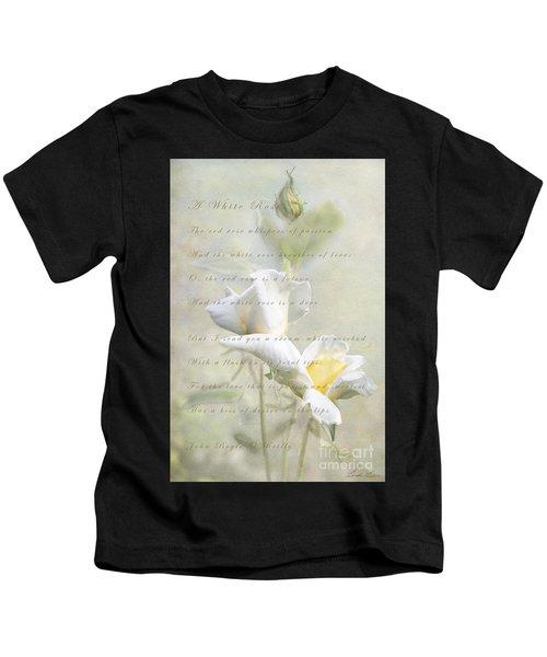 A White Rose Kids T-Shirt