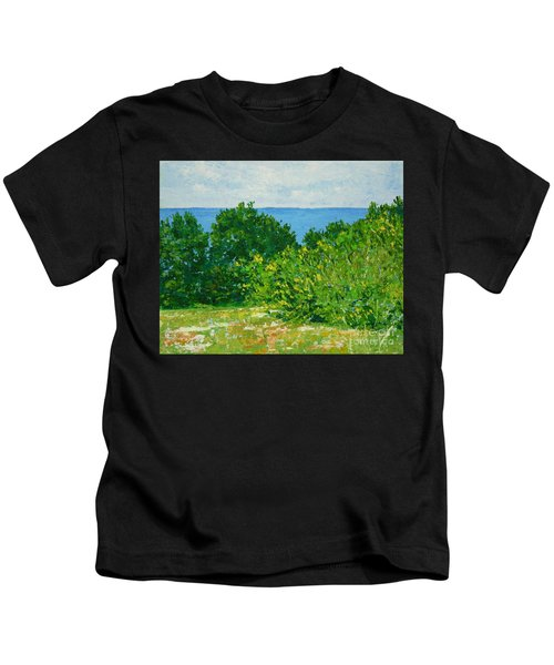 A Winter's Day At The Beach Kids T-Shirt