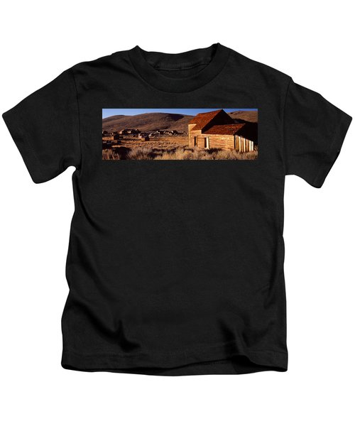 Abandoned Houses In A Village, Bodie Kids T-Shirt
