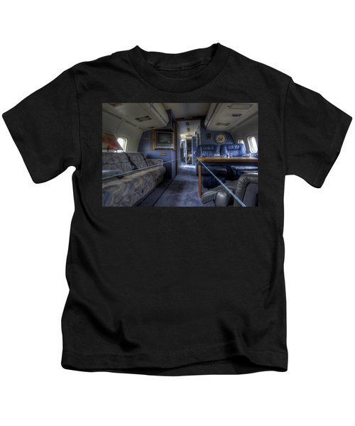 Aboard Air Force Two Kids T-Shirt