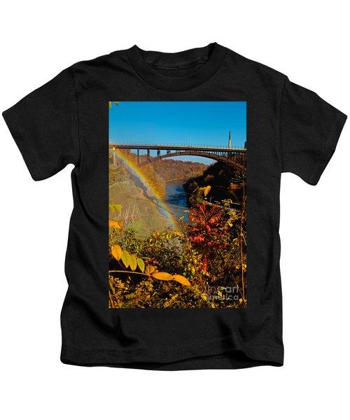 Above The Falls Kids T-Shirt