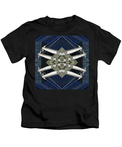 Abstract Construction Kids T-Shirt