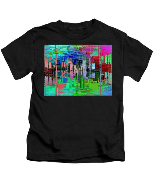 Abstract Cubed 19 Kids T-Shirt