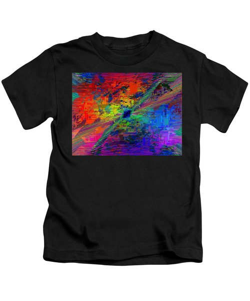 Abstract Cubed 77 Kids T-Shirt